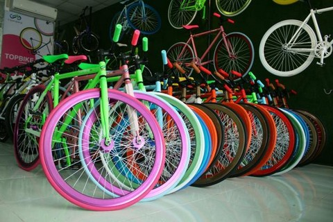 Showroom Vietbike được thiết kế với không gian xanh! Hãy đến tham quan, đi thử xe và lựa chọn cho mình một chiếc Fixed Gear ưng ý nhất!