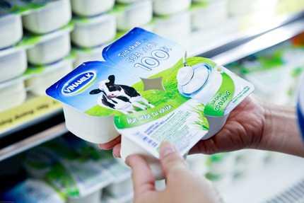 Sữa chua từ sữa tươi 100% - một sản phẩm mới được Vinamilk ra mắt đánh dấu tròn 20 năm tuổi
