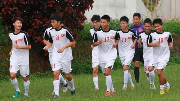 U19 Việt Nam với nòng cốt là học viên học viện HAGL Arsenal JMG