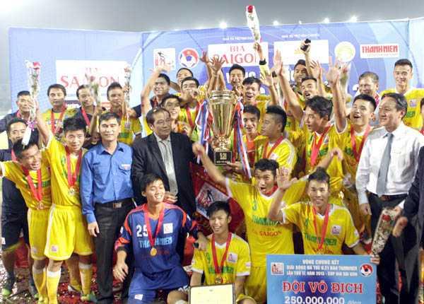 U21 Hà Nội T&T vô địch giải U21 báo Thanh Niên