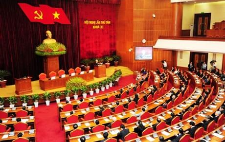 Bế mạc Hội nghị Trung ương 8. Ảnh VGP/Thành Chung