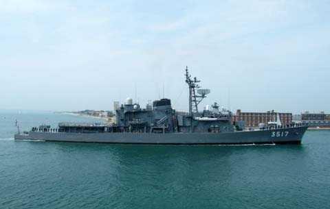 Tàu huấn luyện SHIRAYUKI (TV3517)