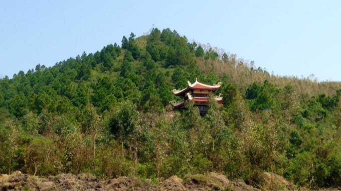 Khu đồi nơi an táng thi hài Đại tướng Võ Nguyên Giáp