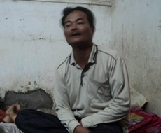 Ông Mẫn Bá Bộ (người thân liệt sỹ Mẫn Bá Phùng) bức xúc trước việc làm gian trá của ông Nguyễn Văn Thúy