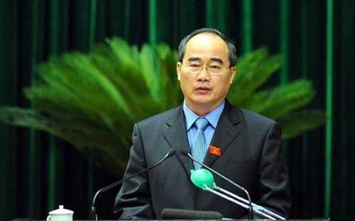 Chủ tịch Ủy ban Trung ương Mặt trận tổ quốc Việt Nam Nguyễn Thiện Nhân.