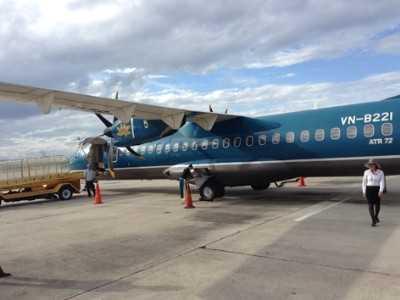 Máy bay ATR 72 của VNA.