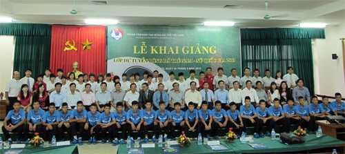 Ngày 24/9, VFF cho khai giảng lớp đào tạo bóng đá trẻ