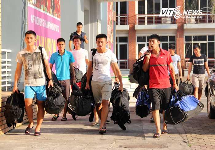 U23 Việt Nam tập trung tại VFF (Ảnh: Nhạc Dương)