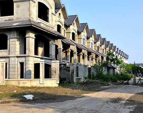 Giá biệt thự tại nhiều nơi ngang với chung cư bình dân