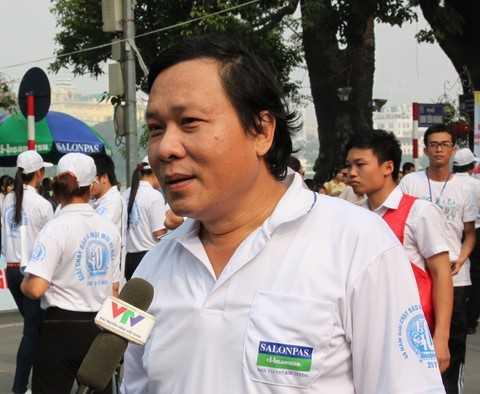 Ông Nguyễn Hải Hồ - Phó TGĐ Tổng công ty cổ phần Bia – Rượu –NGK Hà Nội