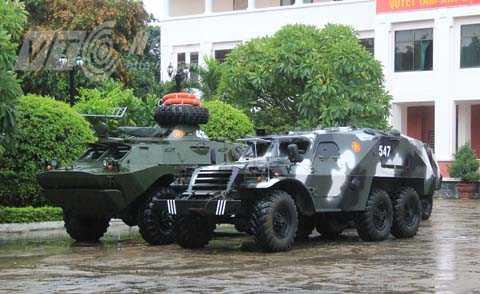 Lực lượng quân đội đã sẵn sàng phương tiện để ứng phó với cơn bão số 11