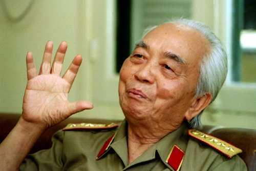 Đại tướng Võ Nguyên Giáp lúc sinh thời.