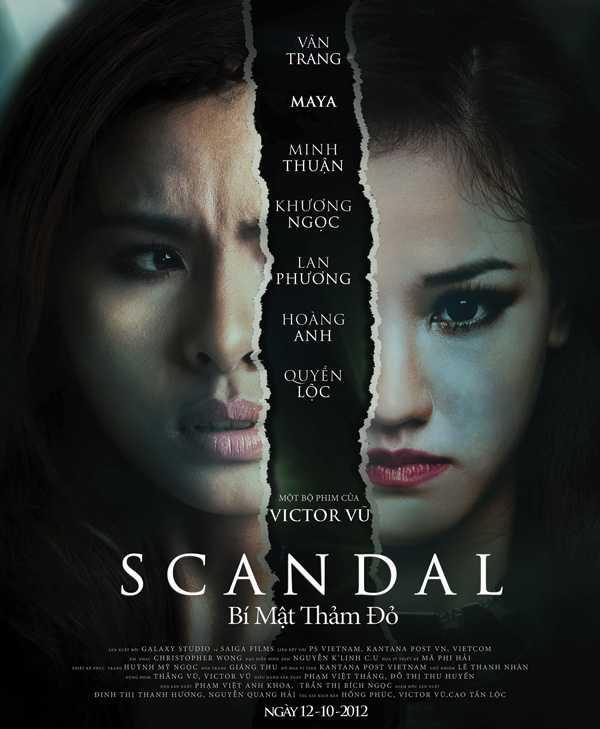 Scandal - Bí mật thảm đỏ nhận giải Bông sen vàng.
