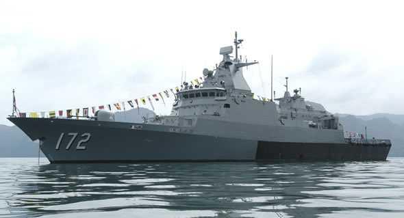 Tàu chiến của Hải quân Hoàng gia Malaysia