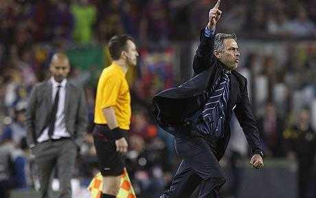 Đánh bại Barca là niềm hạnh phúc tột cùng của Mourinho?