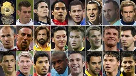 Danh sách bình chọn Cầu thủ xuất sắc nhất thế giới năm 2013 cũng không thực sự khách quan