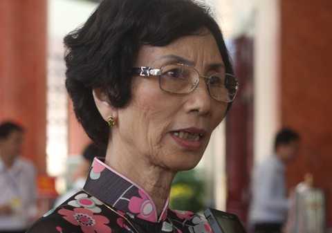Đại biểu quốc hội Bùi Thị An. (Ảnh Quang Tùng)