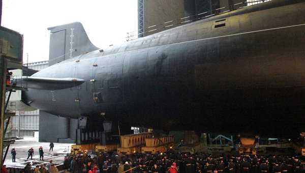 Tàu ngầm hạt nhân Vladimir Monomakh của Nga