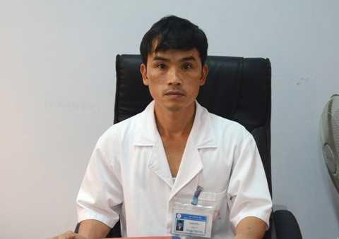 Bác sĩ Phạm Thái Hạ, Giám đốc bệnh viện Đa khoa huyện Thanh Ba.