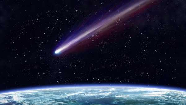 Tiểu hành tinh đường kính 410m sẽ tạo ra một vụ nổ lớn nếu va chạm với Trái đất (ảnh minh họa)