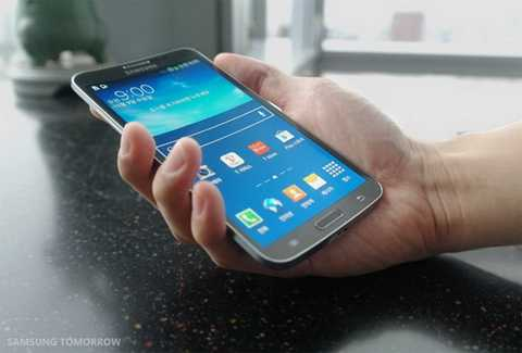 Galaxy Round - Smartphone có màn hình cong đầu tiên trên thế giới