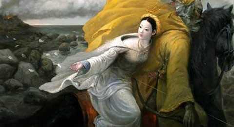 Hình ảnh minh họa truyền thuyết An Dương Vương.