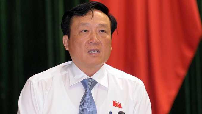 Viện trưởng VKSNDTC Nguyễn Hoà Bình phát biểu tại Quốc hội - Ảnh: V.Dũng
