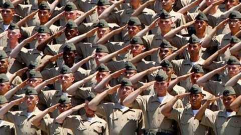 Lính thủy đánh bộ Mỹ - Ảnh minh họa