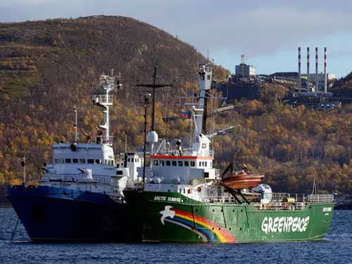 Tàu Greenpeace Arctic Sunrise