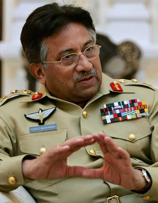 Tổng thống Pervez Musharraf