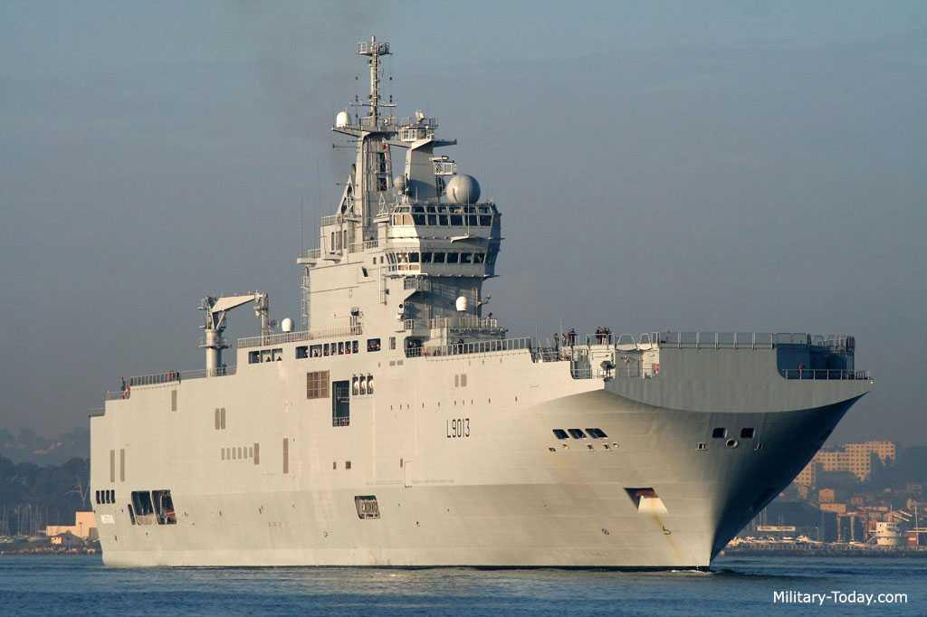 Tàu đổ bộ lớp Mistral
