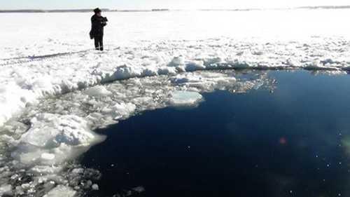 Các mảnh thiên thạch được vớt lên từ hồ Chebarkul