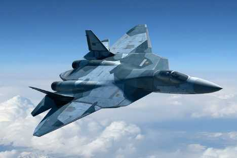 Hình ảnh máy bay chiến đấu thế hệ thứ 5 T-50