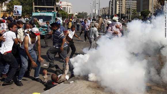 Một vụ biểu tình tại Ai Cập