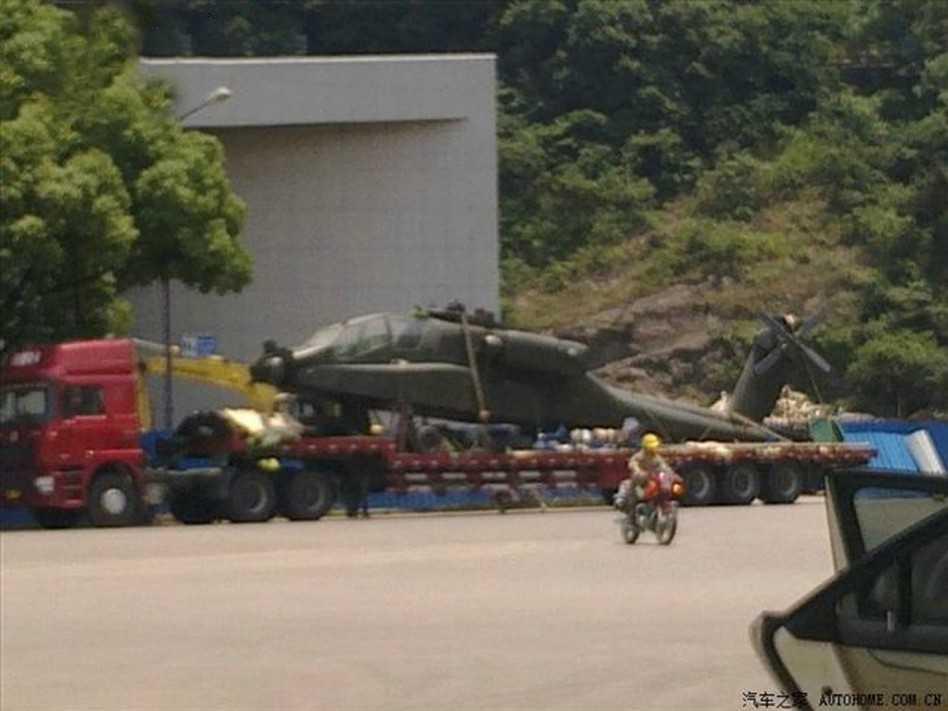 Chiếc máy bay Boeing AH-64 Apache của Trung Quốc