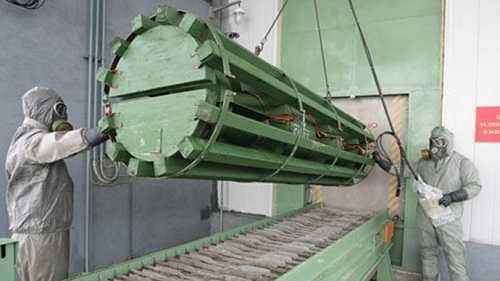 Một cơ sở lưu giữ vũ khí hóa học của Nga tại Kirov