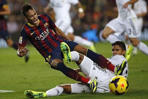 Neymar đã có bàn thắng ngay ở trận El Clasico đầu tiên