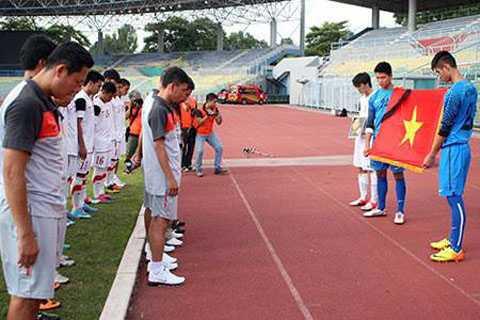 U19 Việt Nam xin được đặc cách viếng Đại tướng
