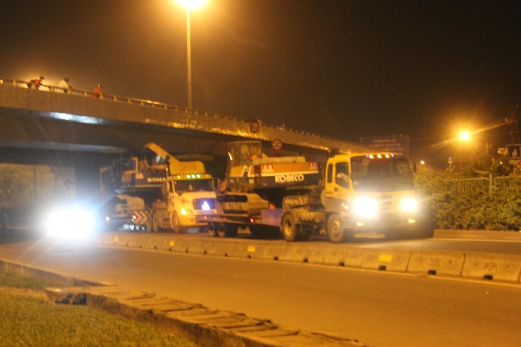 Sự cố gây cản trở giao thông qua khu vực