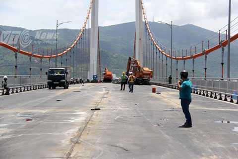 Đại công trình sửa chữa cầu Thuận Phước