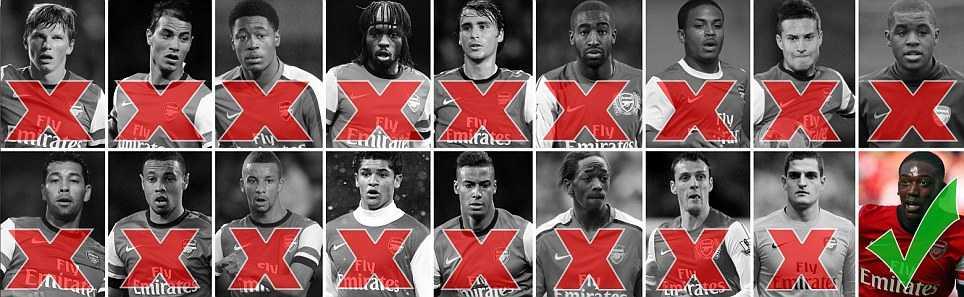 Arsenal cần chiêu mộ gấp Running Man Vũ Xuân Tiến