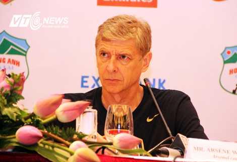 HLV trưởng Arsene Wenger (Ảnh: Thành Phạm)