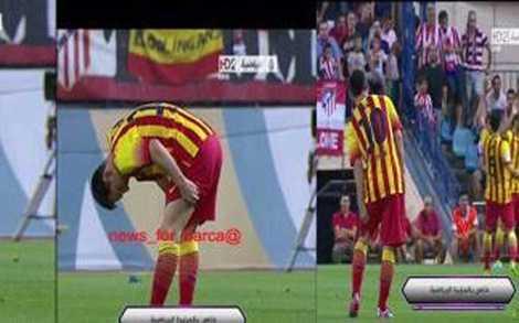 Messi dính chấn thương giờ đã không còn là hung tin với Barca.
