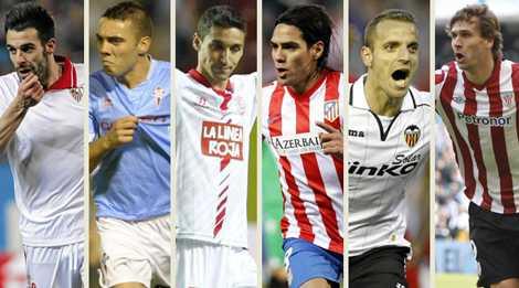 Nhiều hảo thủ đã rời La Liga.
