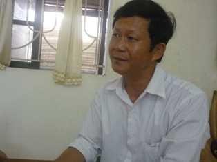 Ông Nguyễn Ngọc Lâm – Phó Chủ tịch UBND xã Phú Xuân (Ảnh: Minh Quân)