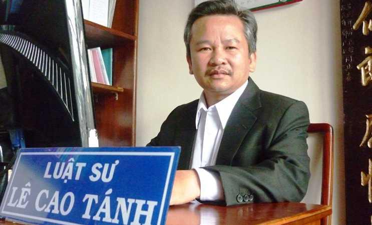 Luật sư Lê Cao Tánh:
