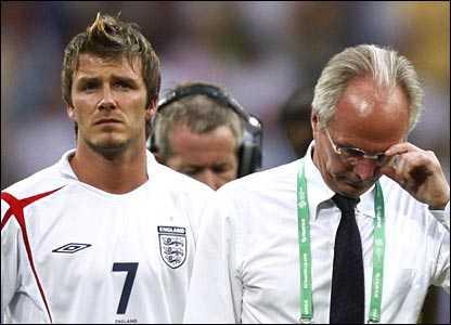 Vận đen luôn ám ảnh Beckham khi chơi cho ĐTQG.