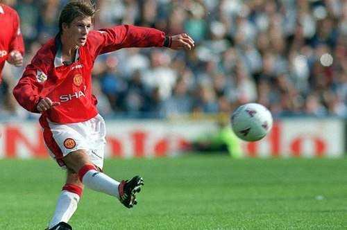 Pha lốp bóng khó tin của David Beckham.