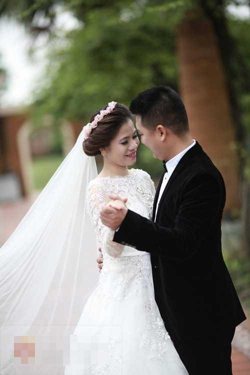 Ảnh cưới lãng mạn của Mỹ Dung