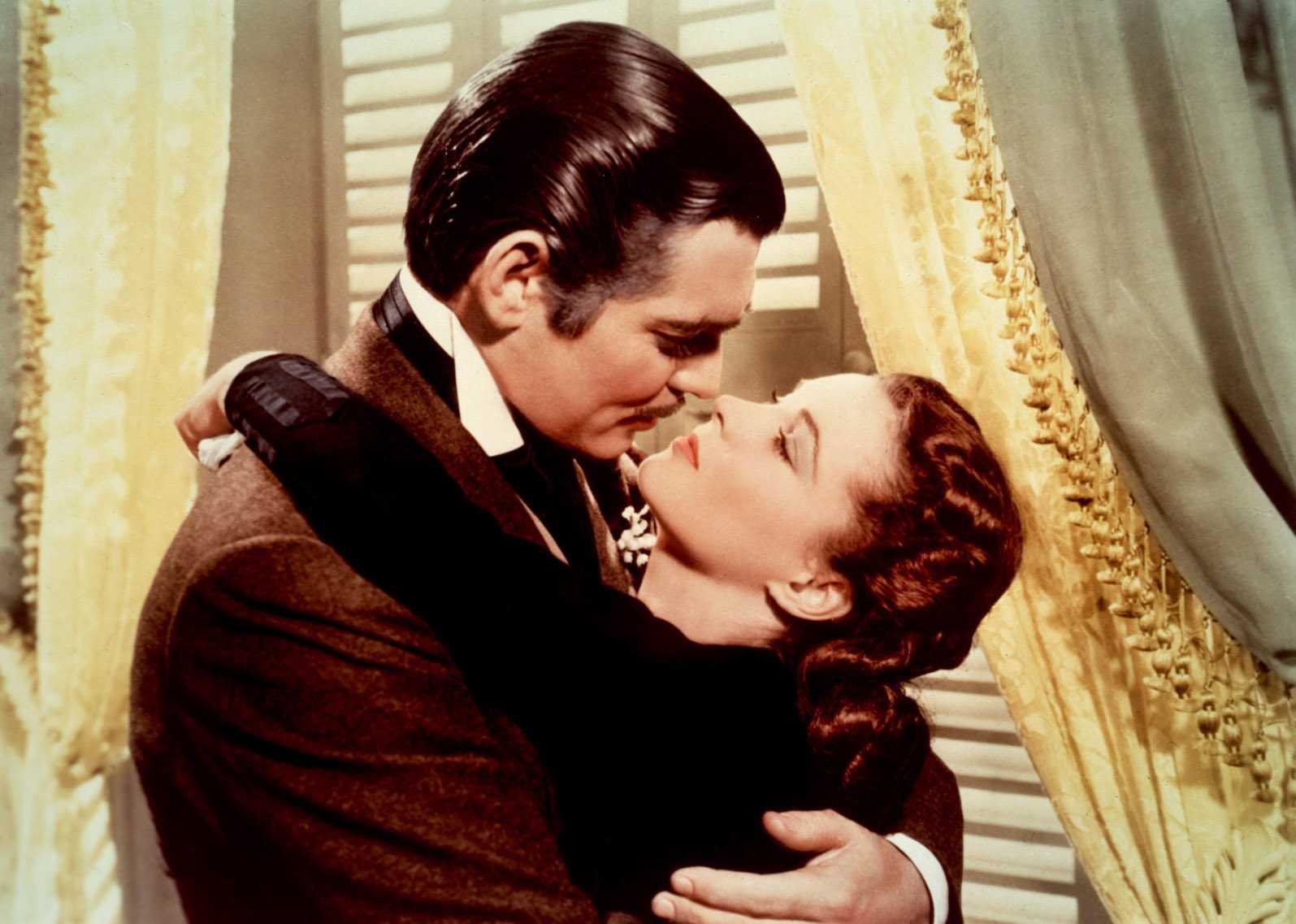 Những hình ảnh đáng nhớ về cặp đôi Scarlett O'Hare - Rhett Butler.